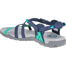 Merrell W's Terran Lattice II Sandals Navy